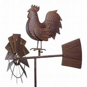 Windspiel Garten Metall : windspiel windrad hahn vogel artferro metall ~ Lizthompson.info Haus und Dekorationen