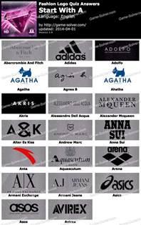 Logo Quiz Fashion Answers