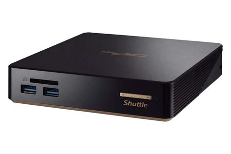 test pc bureau shuttle nano nc01u le test complet 01net com