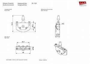 Selecteur Strat 5p Megaswitch Schaller Universel E   5