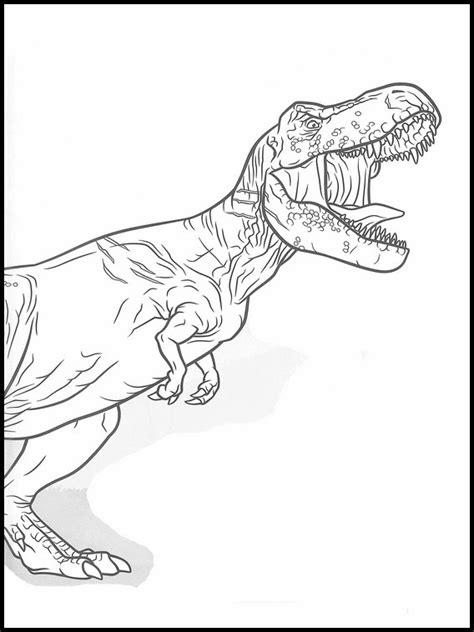 disegni da colorare dinosauri jurassic world jurassic park da colorare portalebambini