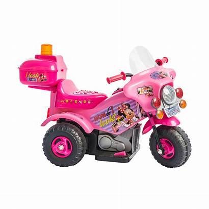 Minnie Mouse Motorcycle Moto Rux Push Motorized