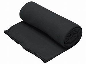 Plaid Noir Pas Cher : plaid 130x160 cm one coloris noir vente de plaid et ~ Teatrodelosmanantiales.com Idées de Décoration