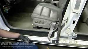 How To Remove The Front Seat  B7 Audi A4 2002