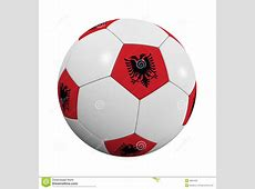 Albanian Soccer Ball stock illustration Illustration of