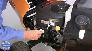 Changing The Air Filter On Your Cub Cadet Lawn Tractor