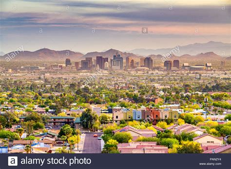 phoenix arizona downtown stock photos phoenix arizona