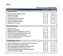 employee or independent contractor checklist template search results for blank excel calendar template 2013