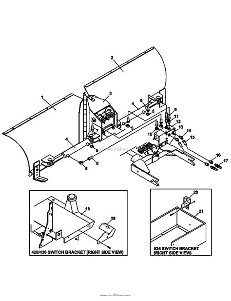 S150 Snapper Belt Diagram by Bunton Bobcat 75 70550a V Blade Bd358 Parts Diagram