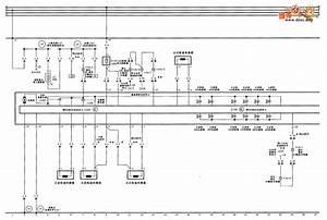 Audi A6 Saloon Car Seat Circuit Diagram One