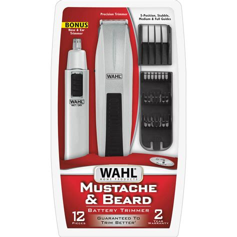wahl beard trimmer cord cordless sharpening steel blades