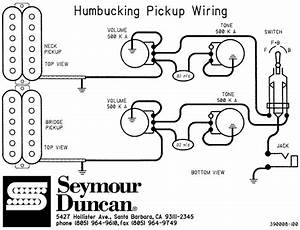 Schematics  Humbucking Two Pickup Gibsons