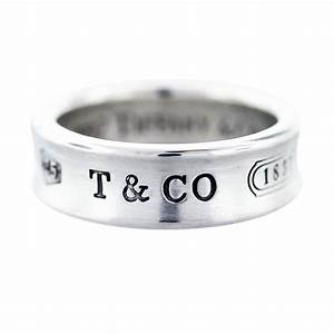 Tiffany And Co Sterling Silver 1837 Wedding Band Boca Raton