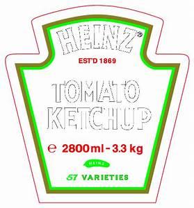 heinz tomato ketchup logo free vector logos vectorme With heinz label template