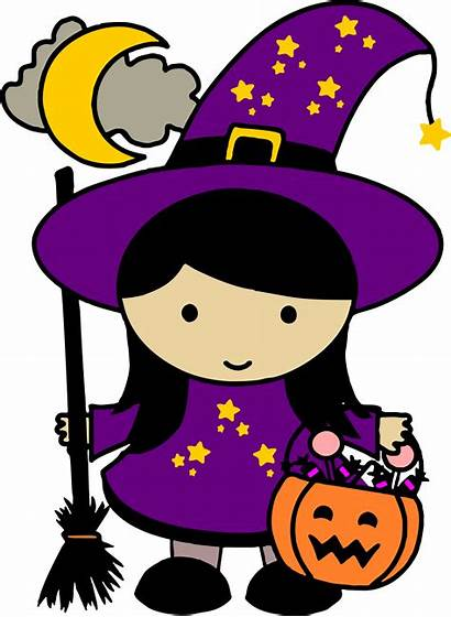 Halloween Witch Clipart Clip Night Witchcraft Transparent
