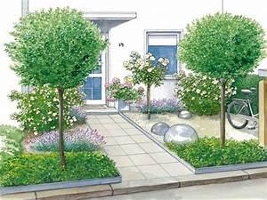Vorgärten Modern Gestalten : vorgartengestaltung 40 ideen zum nachmachen mein sch ner garten ~ Yasmunasinghe.com Haus und Dekorationen