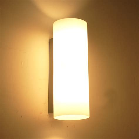 2015 modern brief wall sconce glass bed light reading e14