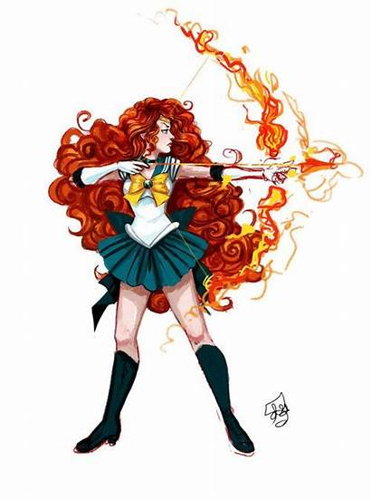 Sailor Mash Disney Moon Fan Perfect