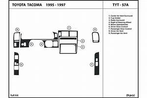Dl Auto U00ae Toyota Tacoma 1995