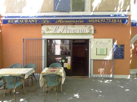 cuisine manosque restaurante picture of le romarin manosque tripadvisor