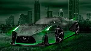 Nissan, Gtr, 2020, Concept, Crystal, City, Car, 2015, Wallpapers