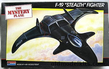 monogram    stealth fighter  mystery plane