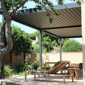 Pergola Bioclimatique Sur Mesure : pergola bioclimatique adoss e en aluminium et sur mesure ~ Melissatoandfro.com Idées de Décoration