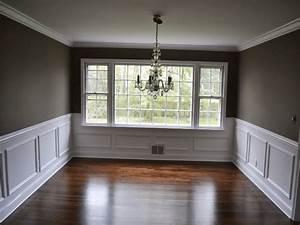 4, Dining, Room, Wall, Trim, Ideas