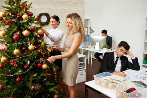 office christmas decorating themes lovetoknow