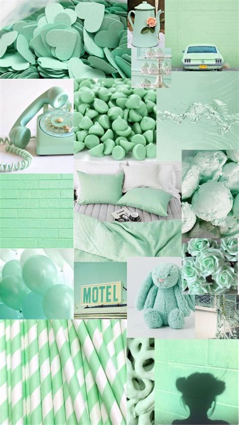 turquoise aesthetic background