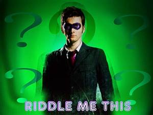 Riddle Me This by archangemon on DeviantArt