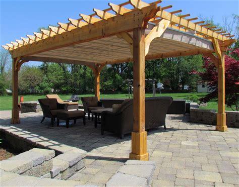 customers photo custom    cedar  beam pergola