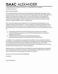 best training and development cover letter examples With cover letter for leadership development program