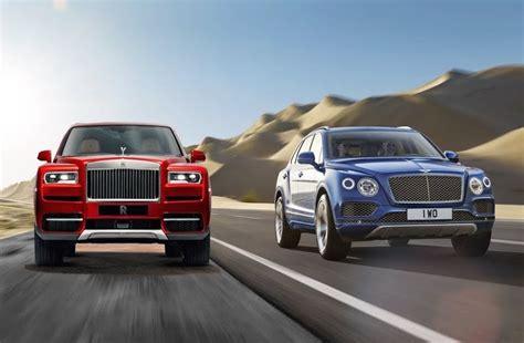 Rolls Royce Vs Bentley by Bentley Bentayga Vs Rolls Royce Cullinan Car List