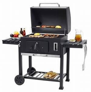 Toronto Grill Xxl : toronto xxl charcoal bbq grill with side tables ~ Frokenaadalensverden.com Haus und Dekorationen