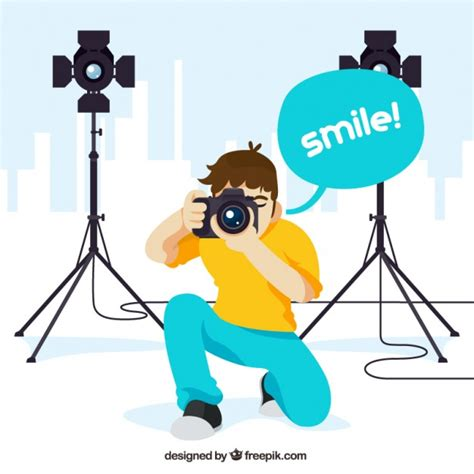 12144 professional photographer clipart professional photographer illustration vector free