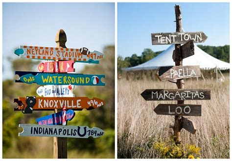 sign ideas homemade diy rustic wedding signs