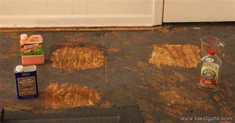 remove glued  carpet lovely