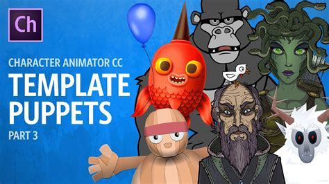template puppets part  adobe character animator tutorial