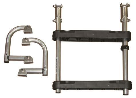 Inboard Boat Ladder by Jif Marine Compact Inboard Outboard 2 Or 3 Step Transom