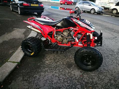 Trx Road by Honda Trx 450 R Road Race Tuned Immaculate Condition