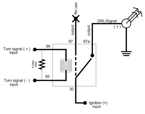 Phillip Wire Diagram by Diy Drls Signals Mod Tacoma World