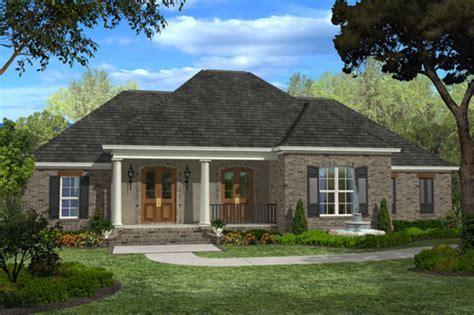 European Style House Plan   4 Beds 3 Baths 2400 Sq/Ft Plan