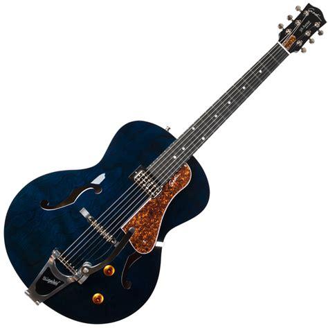 hollowbody  gitarre godin  avenue nightclub indigo
