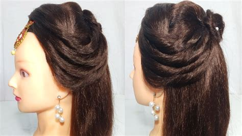 open hairstyle for party wedding easy hairstyles for
