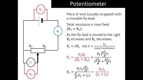 how is a what is a potentiometer and how does it work youtube