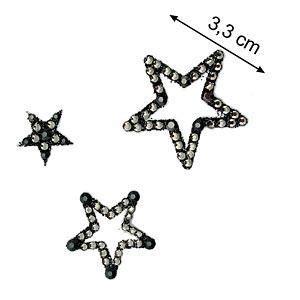 Lade Swarovski by Comprar Giuxury 3 Estrellas Plata Arcilla De Metal