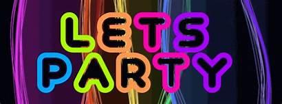 Glow Party Neon Birthday Invitations Clipart Teen