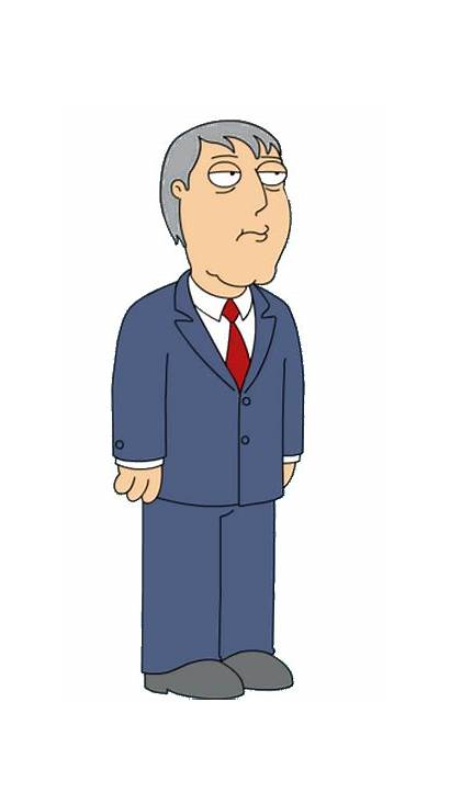 Adam West Guy Mayor Simpsons Character Alcalde