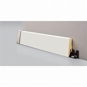 Sockelleisten Holz Weiß : logoclic sockelleiste weiss matt bei bauhaus kaufen ~ Watch28wear.com Haus und Dekorationen